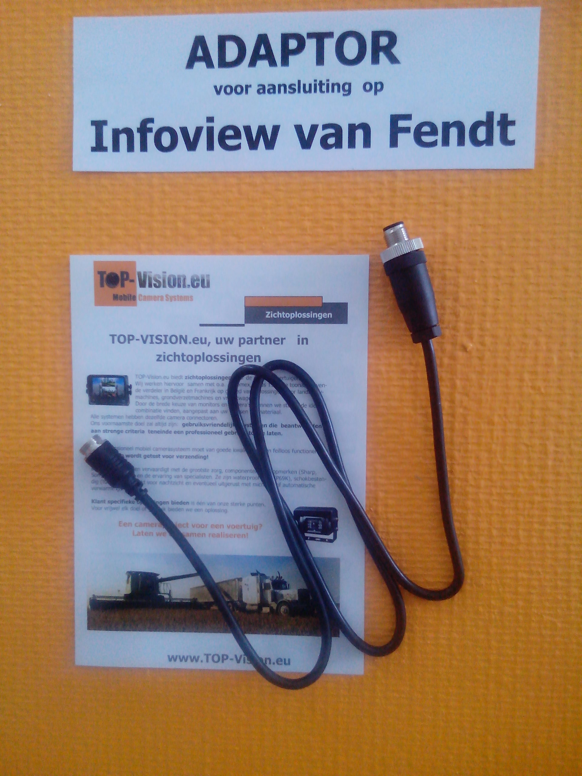 Fendt Infoview adaptor2